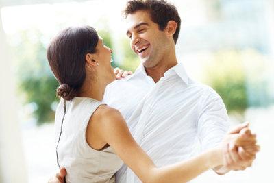 Schöne Augenblicke mit dem Partner