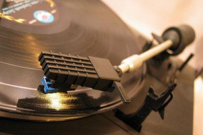 Schallplatten sind immer noch beliebt.