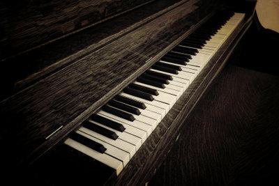 Chopin schrieb viele Werke für das Klavier.