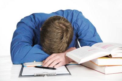 Nervliche Belastung kann die täglichen Aufgaben stark erschweren.