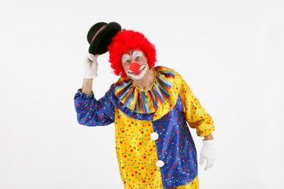 Gestalten Sie ganz einfach ein eigenes Clownkostüm.