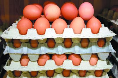 Richtig gelagerte Eier halten bis zu 4 Wochen.