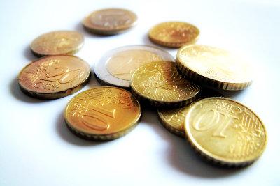 Alle Euromünzen sind auf der Vorderseite gleich gestaltet.