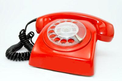 Telefonieren kann eine schöne Beschäftigung sein.
