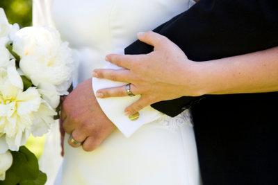 Eine Hochzeit ist ein großes Ereignis.