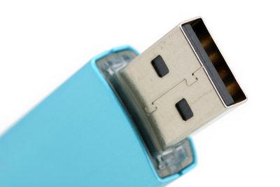 Ein handelsüblicher USB-Stick kann nicht an das iPad angeschlossen werden.