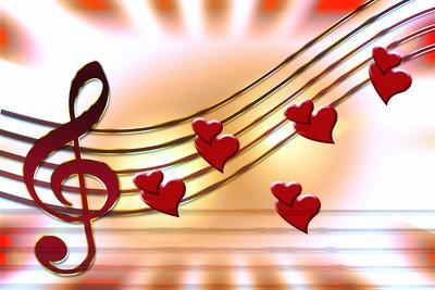 Musik liegt in der Luft.