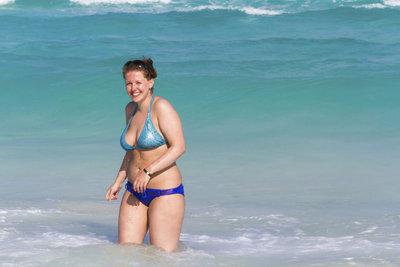 Um einen Bikini zu tragen, müssen Sie nicht gertenschlank sein.
