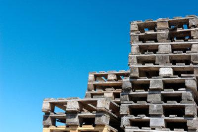 Holz ist ein wichtiger Eco-Baustoff.