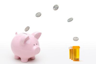 Die Kosten für die Krankenversicherung variieren.