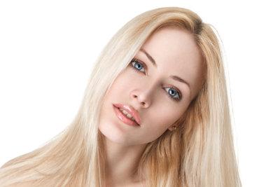 Blond und gepflegt - das ist das Ziel.