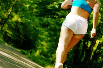 Jogging kann die Kondition effektiv aufbauen.