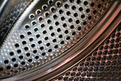 Die Waschmaschine - eine private, bunte Färberei.