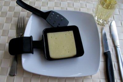 Raclette-Käse können Sie einfrieren.