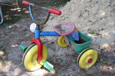 Mit dem Kinderdreirad hat das Drift Trike nur die Radanzahl gemeinsam.