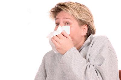 Eine verstopfte Nase ist sehr lästig.