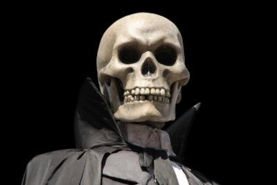 Der Tod wird in der Literatur oft als Person dargestellt