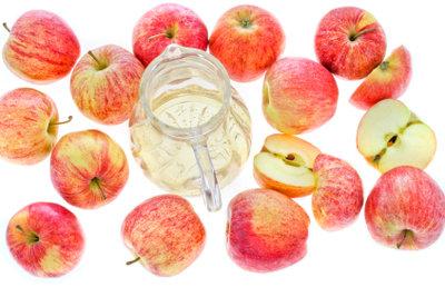 Mit Apfelsaft können Sie eine leckere Schorle zubereiten.