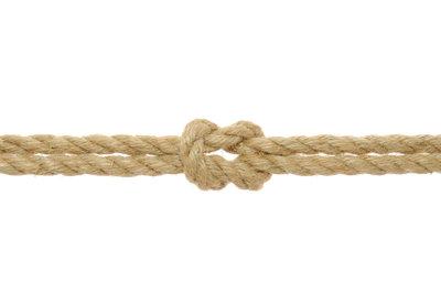 So sieht ein Kreuzknoten aus.