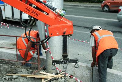 Winterbeschäftigungsumlage sichert Beschäftigte im Bauhauptgewerbe.
