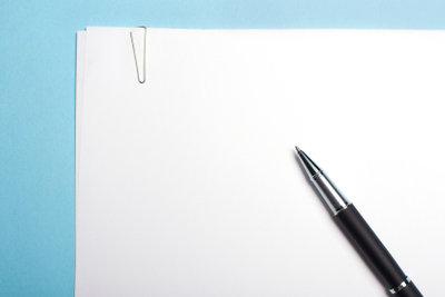 Vor jedem Essay sollte Sie eine Gliederung verfassen.