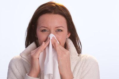 Eine Infektion kann sehr hartnäckig sein.