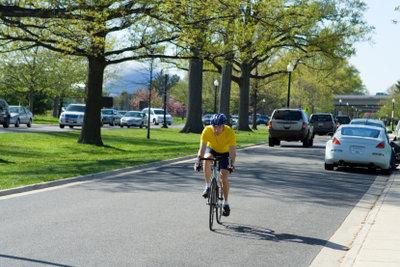 Mit dem Fahrrad kann man schnell Kondition aufbauen.