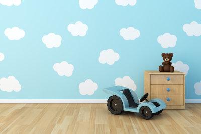 Mit Vliestapeten können Sie Ihre Wände kreativ gestalten.