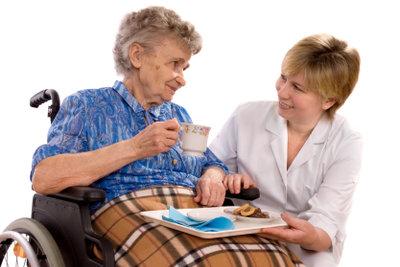 Auch Senioren feiern gerne.