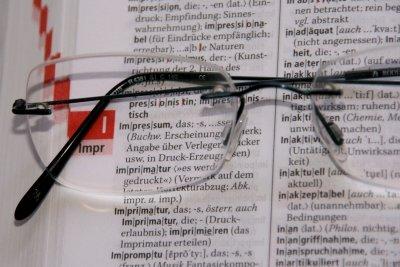 Das Brillensymbol im Safari weißt auf die Leseliste hin.