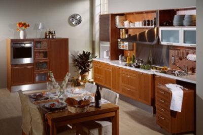 Feuchtraumlaminat ist besonders gut für Küchenräume geeignet.