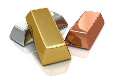 Gold in reinster Form - der Goldbarren.