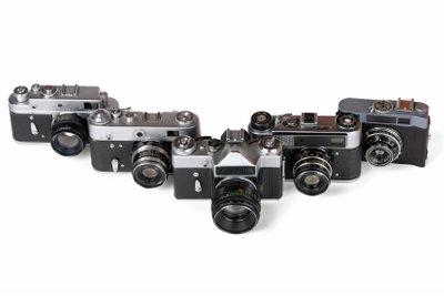 Es gibt unzählige verschiedene Kameras.
