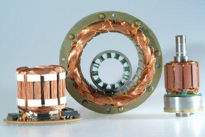 Spulen für Magnet-Motoren