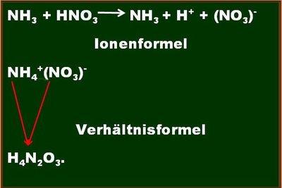 Die Ionenformel hat den größten Informationsgehalt.