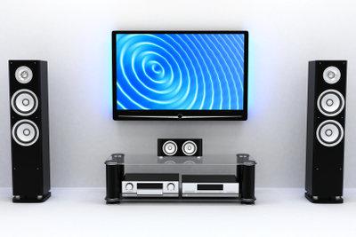 Die AEG DVK 4628 Digitale 3D TV-Box können Sie an einen Fernseher anschließen.