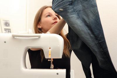 Eine Jeans können Sie sich selber nähen.