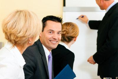 Der Aufbau einer Praktikumspräsentation ist einfach.