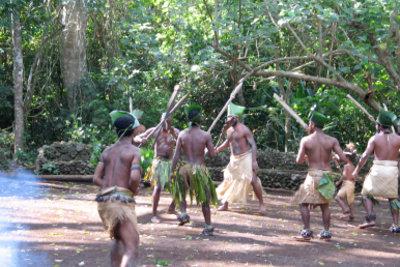 Werden Sie zum Aborigine.
