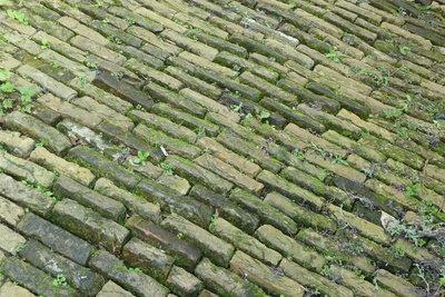 Pflasterstraßen sind eine Erfindung der Römer.