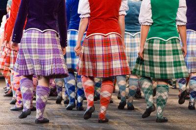 Der Schottenrock ist ein traditionelles Kleidungsstück.