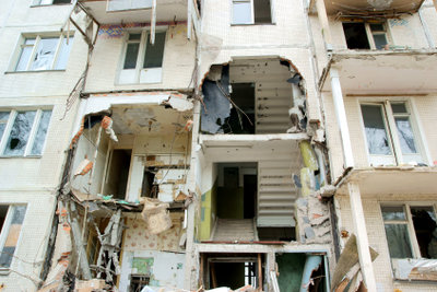 An Plattengrenzen kommt es zu Erdbeben.