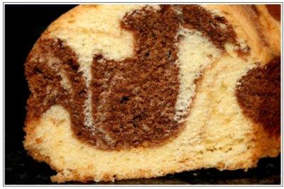 Beim Marmorkuchen kann der Zucker durch Stevia ersetzt werden.