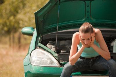 Frust - wenn der Wagen nicht mehr anspringt.