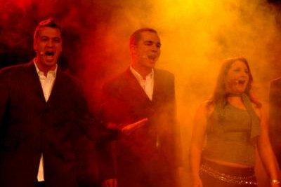 Singen und schauspielern muss ein Musicaldarsteller können.