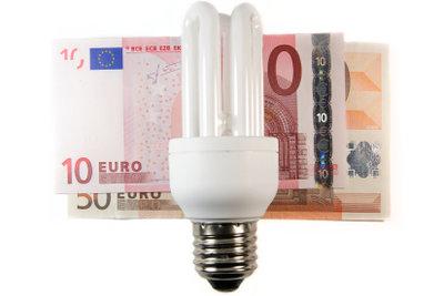 Energiesparlampen können Energiekosten senken.