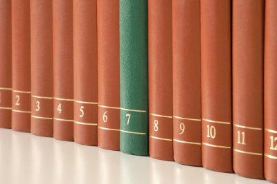 Buchbände verlieren nicht im Wert, sind aber schwierig zu verkaufen.