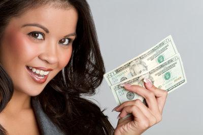 Geld schnell am Geldautomaten ziehen.