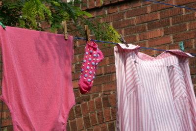 Frisch duftende Wäsche!