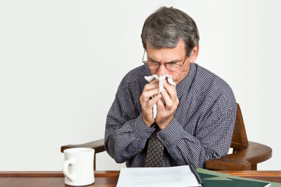 So vermeiden Sie Pollen im Haus.